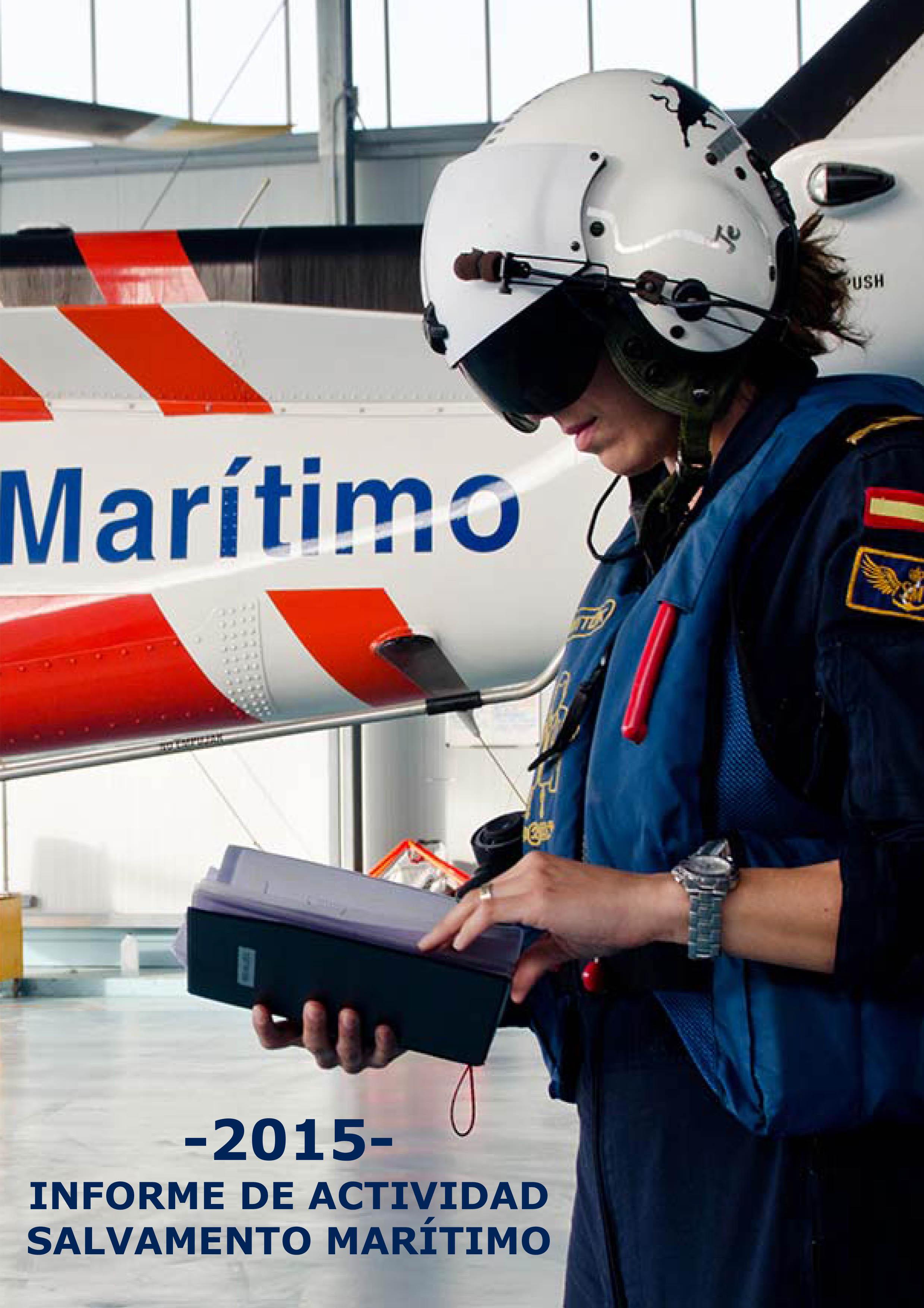 Informe de actividad Salvamento Marítimo2015