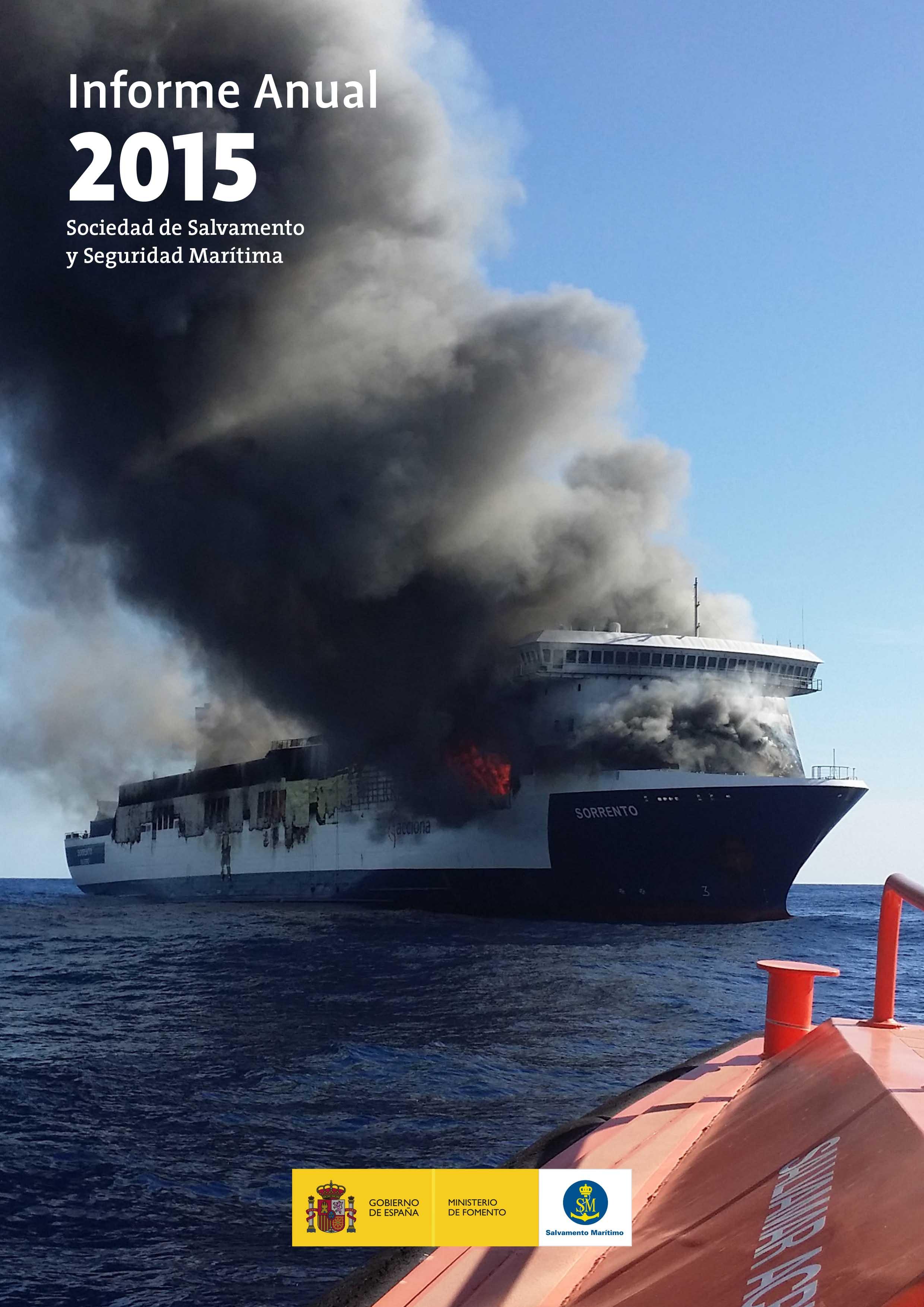 Salvamento Marítimo Informe Anual 2015