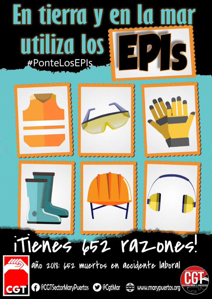Cartel EPIs